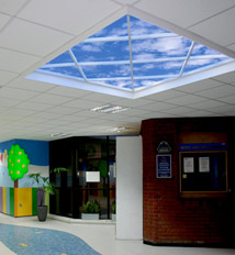 Alder Hey Children's Hospital functions a playful Luminous SkyCeiling