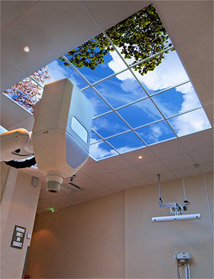 Baclesse Radiotherapy Center in France features a Luminous SkyCeiling above their particular CyberKnife