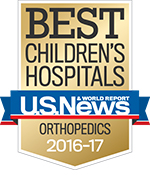 ideal kid's Hospitals - U.S. Information - Orthopedics 2015-16