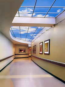 Community North Hospital features among longest Luminous SkyCeiling in an inside corridor