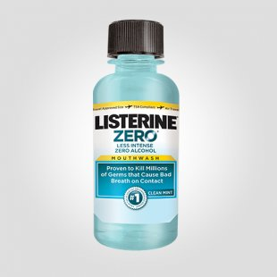 LISTERINE ZERO® – sample size bottle