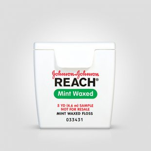 REACH® Mint Waxed Floss – sample