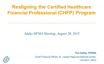 Certified Healthcare Financial Professional