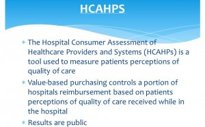 Consumer Assessment of Healthcare Providers and Systems