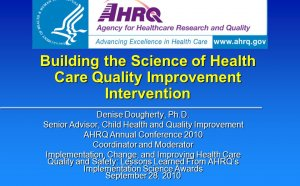 Health Care quality Improvement