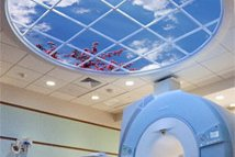 San Jacinto Methodist Hospital featuring a Circular Luminous SkyCeiling