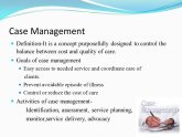 Case Management definition